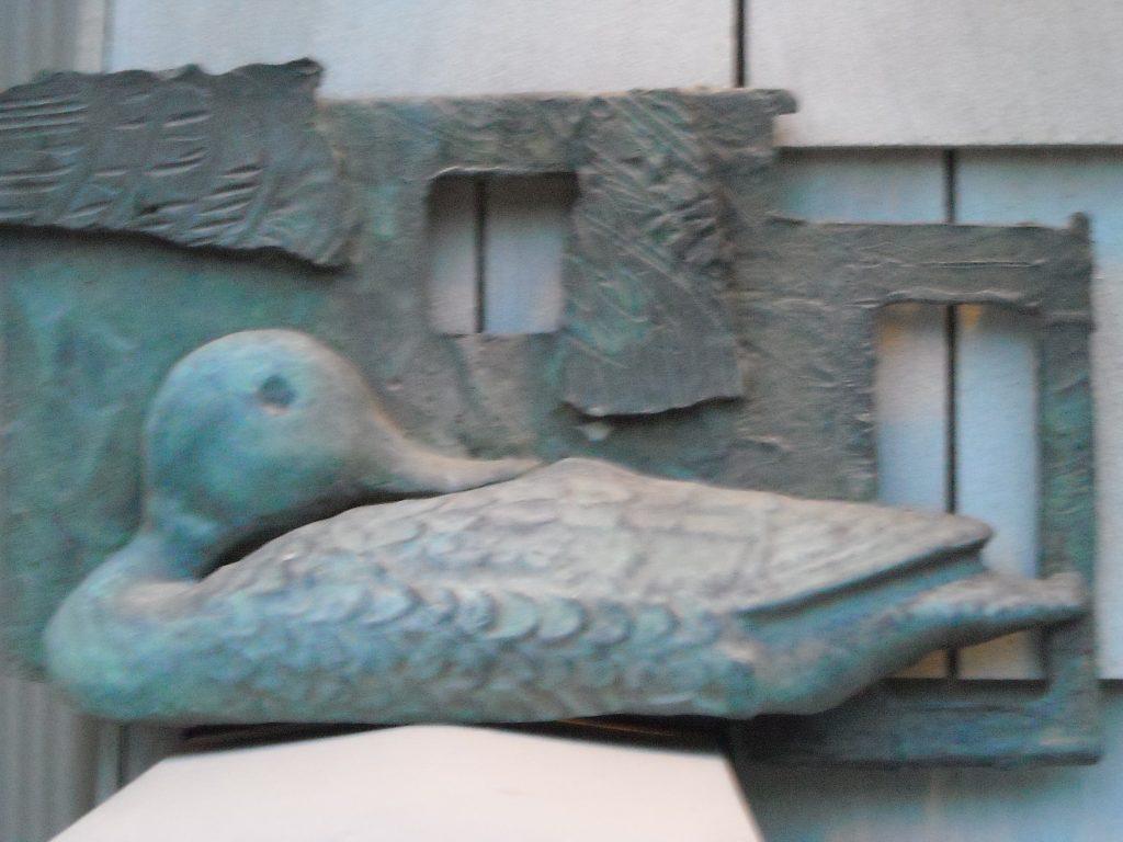 bronze duck